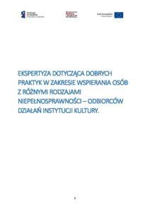 zdjęcie lub grafika do zasobu: Ekspertyza dostępności - Euroregion Beskidy